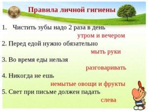 Реферат ГИГИЕНА