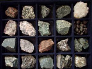 Породообразующие минералы и горные породы