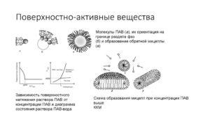 Лабораторная работа ПОВЕРХНОСТНО-АКТИВНЫЕ ВЕЩЕСТВА (ПАВ)