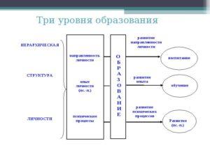 Развитие, обучение и воспитание личности