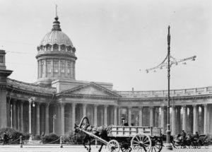 История строительства Казанского кафедрального собора