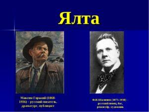 ГОРЬКИЙ Максим (1868-1936) , русский писатель, публицист