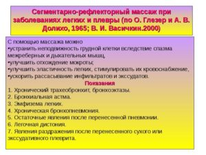 СЕГМЕНТАРНО-РЕФЛЕКТОРНЫЙ МАССАЖ