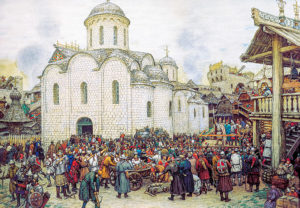 Россия, конец 15 века