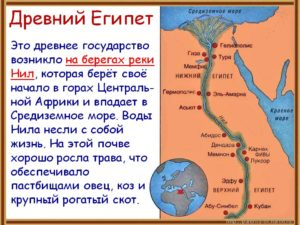 ГОСУДАРСТВО ДРЕВНИЙ ЕГИПЕТ