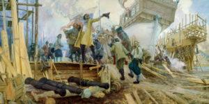 Эпоха Петра I: рождение русского флота