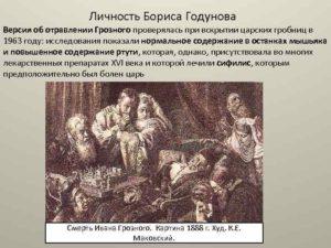 Личность Бориса Годунова