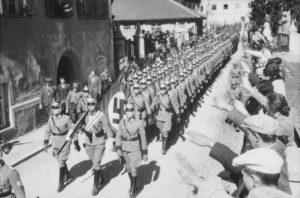Захват Австрии фашистской Германией