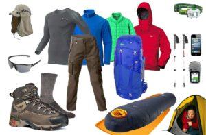 Одежда и снаряжение в поход зимой