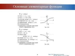 Реферат По высшей математике Элементарные функции