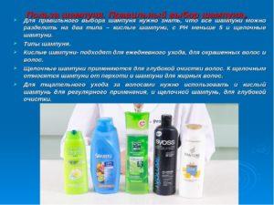 Проект по предмету:химия на тему: Польза или вред шампуни от перхоти