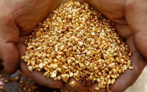 Золотодобывающая промышленность России»
