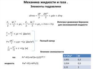 Тестовые задания по механике жидкости и газа