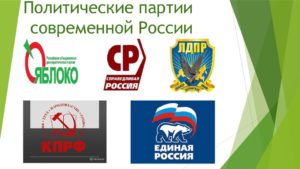 Политические партии в современной России