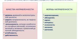 Направленность и мотивы деятельности личности